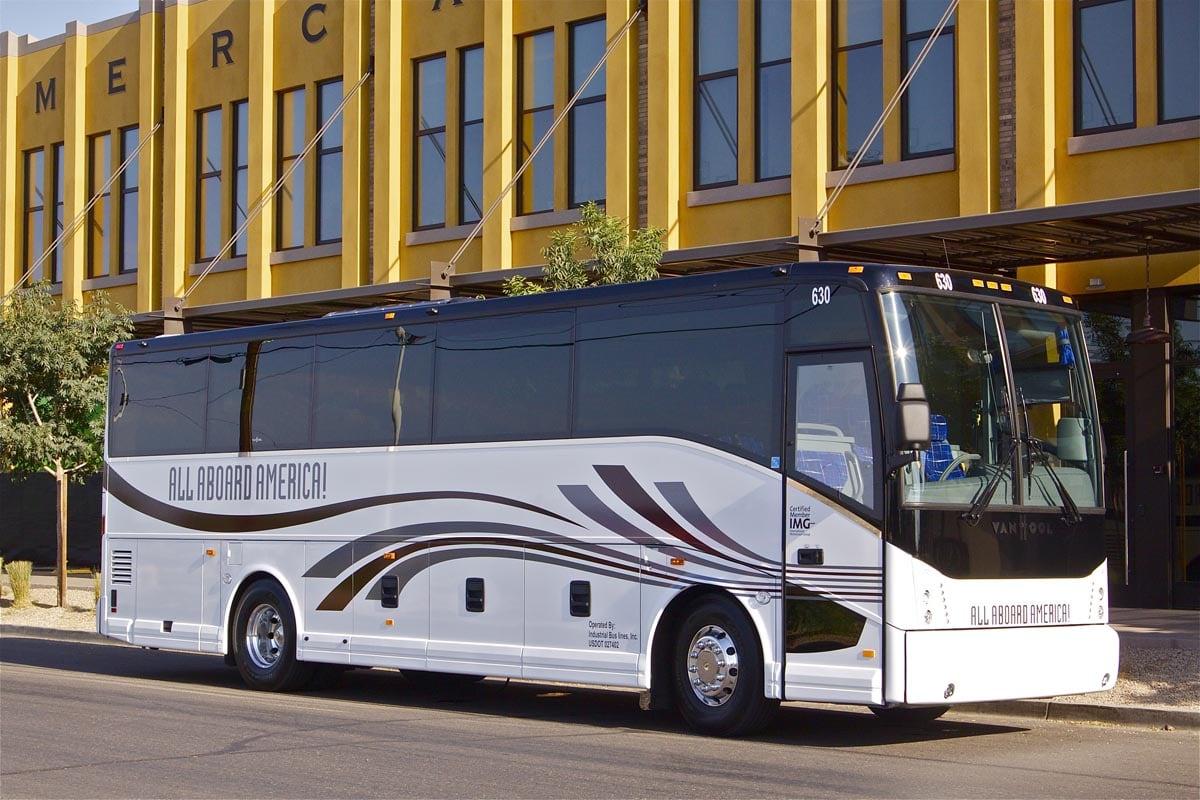 Luxury Coach Charter Fleet | Charter Bus Transportation